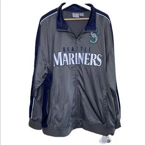 NWT! Seattle Mariners NBL Jacket 3X